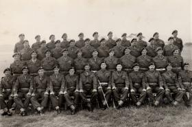 11th Parachute Battalion Sergeants' Mess, 1956