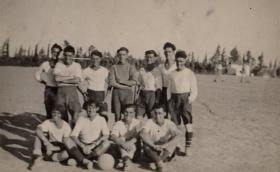 The Team, Taylor with friends, Palestine, October 1946