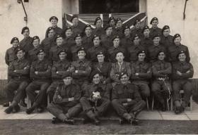 Members of 1st Para Bn (post Arnhem). December, 1944.
