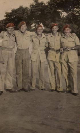 On leave in Egypt with friends, September 1946