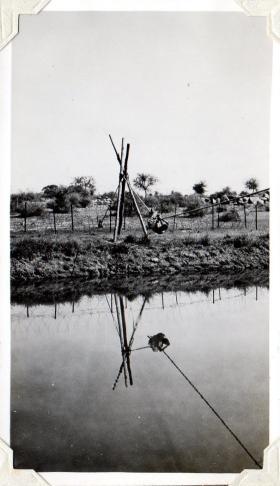 River crossing in Jhansi, circa 1943