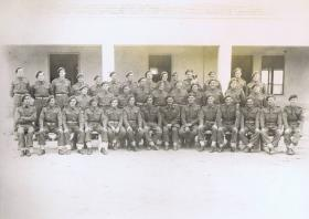 Members of the Mortar Platoon, 1st Parachute Battalion, Barletta, Italy 1943.