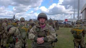 Staff Sergeant Phil Gonzalez, Arnhem, 22 September 2012.