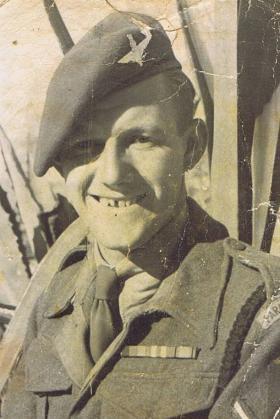 Don Dean in Tel Aviv, December 1945