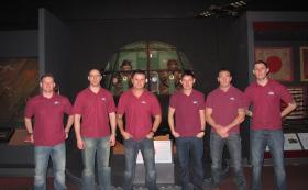 216 (Parachute) Signal Sqn in Airborne Assault Museum, Feb 2012