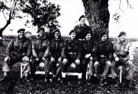 Instructors at Hardwick Hall, 1943.
