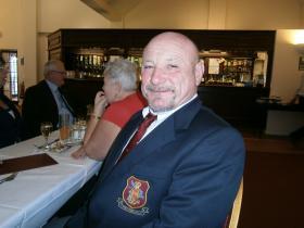 John Mundy at PRA Christmas Dinner, 2013.