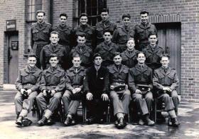 Recruits, Aldershot, September 1951.