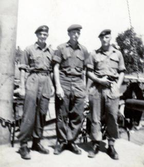 Members of 3 PARA, Canal Zone, c1953.