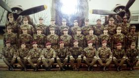 Recruit cadre T104 February 1985