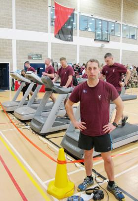 Soldiers go the distance for charity, 9 December 2014.