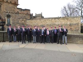 Stirlinshire ABA visit Edinburgh Castle, 2016.