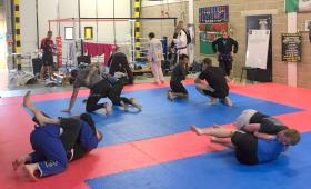 Martial arts marathon supports Combat Stress