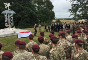 Airborne sappers mark Falklands anniversary