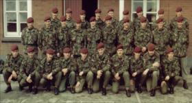1 Platoon, A Coy, 3 Para. Tidworth, 1982.