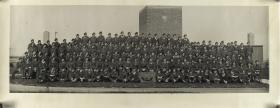 Group Photograph of 3rd Airlanding Anti Tank Battery, August 1945