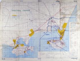 Map of Aden, Ratio 1: 50,000