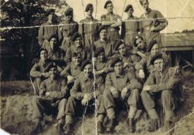 Group photograph of 21st Independent Para Coy at Hardwick, 1942