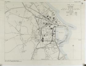 Town Plan of Sousse (Tunisia) 1942