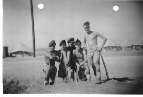 Members of 127 Parachute Field Ambulance at Gedera, Palestine, 1946