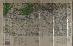Map of Arnhem (Ratio 1: 25,000)