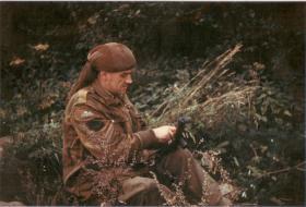 George Moodie in the field