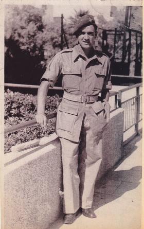 George Moodie in Tel Aviv