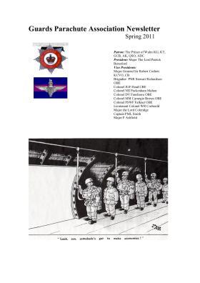 Guards Parachute Association Newsletter Spring 2011