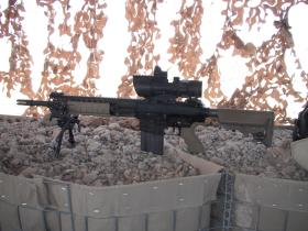 L129A1 Sharpshooter Rifle, Afghanistan, 2011