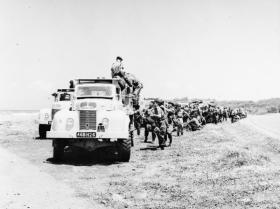 Members of 299 Sqn, 131 Engineer Regiment, in Cyprus, 1963.