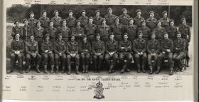 The Officers of 1st Battalion Royal Ulster Rifles, 1942