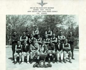 2nd Para Bn Boxing Team 1953.