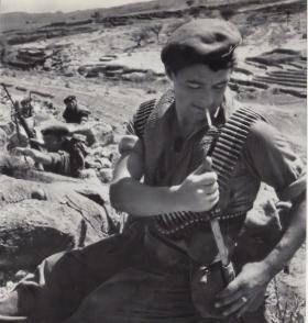 L/Cpl Greer of 3 Para in Radfan, 1964.