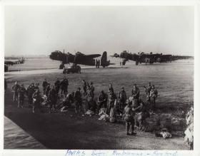 3 Platoon, 21st Independent Parachute Company emplane for Arnhem at RAF Fairford, 17 Sept 1944