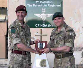 3 PARA Handover to 42 Commando Royal Marines, Patrol Base Shahzad, April, 2011