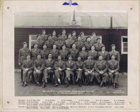 Group photograph of 3rd Parachute Battalion Officers, July 1945.