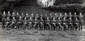 The Officers' Mess, 3rd Parachute Battalion, Spalding, Lincolnshire, 1944.