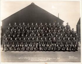 Warrant Officer's & Sergeant's Mess, 3rd Battalion, The Parachute Regiment. Melton Mowbray, July 1945.