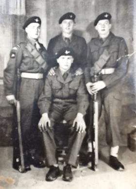 Members of 3 PARA c1955/56