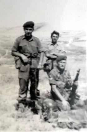 Three members of 3 PARA, Cyprus, 1956.