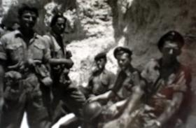 Members of 3 PARA in Cyprus, 1956.