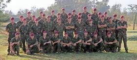 Signals Platoon, D Company, 3 PARA,  Kenya, 2010.