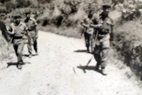 3 PARA on patrol, Cyprus, 1956.