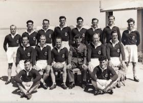 3 PARA Rugby XV Canal Zone 1951/52