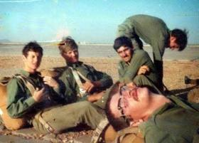 Members of 3 PARA, Sudan, 1975.