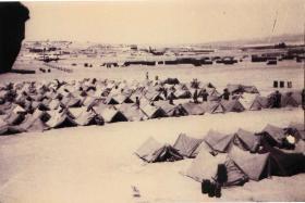 3 PARA tent lines at Amman, Jordan, July 1958