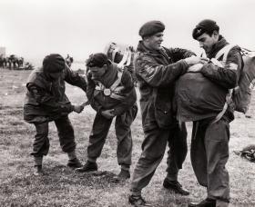 3 PARA training excercise, Thetford Norfolk, 1951.