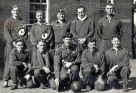 3 Para Water polo team, c1955.