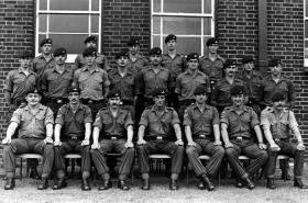 3 Platoon, A Company 2 PARA, Ballykinler Camp, Northern Ireland, July 1979.