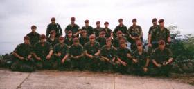 3 Section, 12 Platoon, D Coy, 2 PARA, Sierra Leone, May 2000.